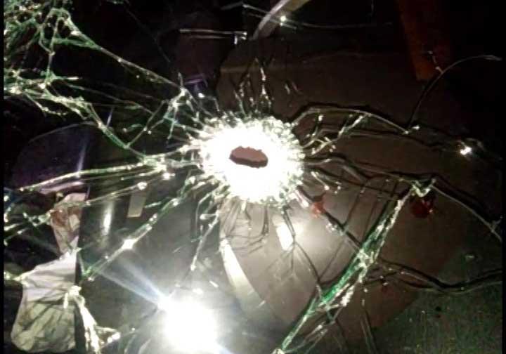 मृतक को कार के अंदर मारी गयी गोली