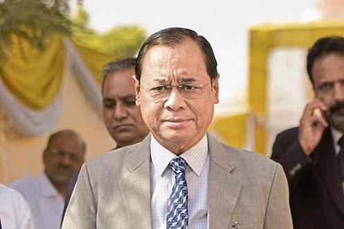 नवनियुक्त चीफ जस्टिस ऑफ इंडिया जस्टिस रंजन गोगोई