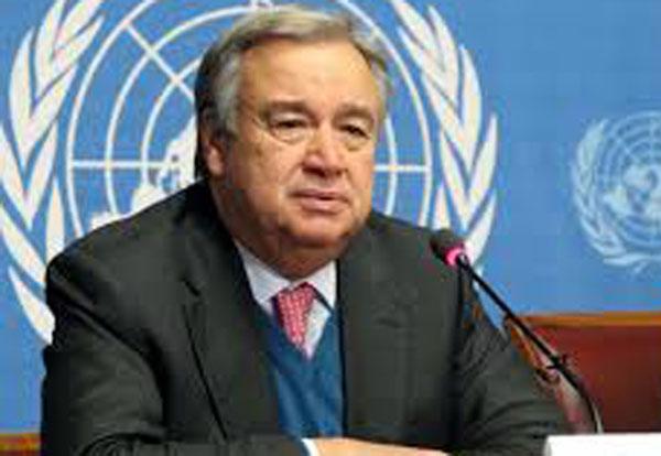 संयुक्त राष्ट्र के महासचिव एंटोनियो गुटेरेस ( फाइल फोटो)