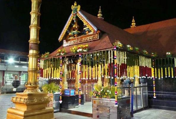 केरल का प्रसिद्ध सबरीमाला मंदिर (फाइल फोटो)