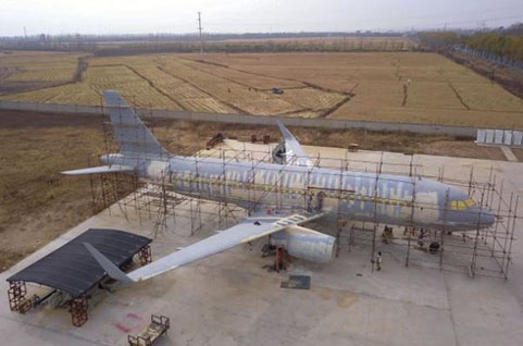 बाइक मैकेनिक ने बना डाला  Airbus A-320 प्लेन (फाइल फोटो)