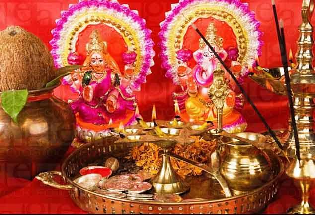 मां लक्ष्मी-भगवान गणेश