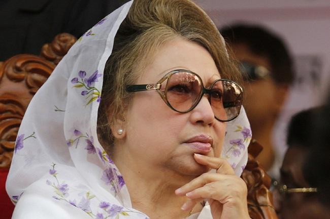 बांग्लादेश की पूर्व प्रधानमंत्री खालिदा जिया (फाइल फोटो)