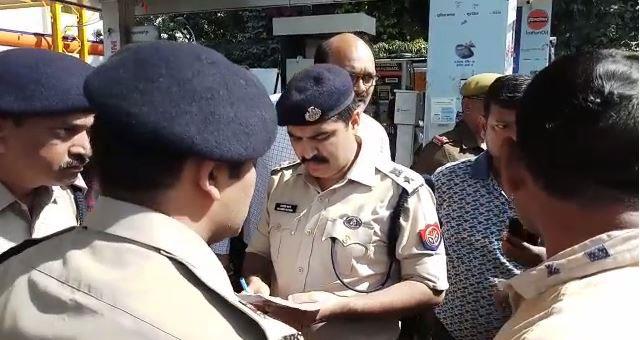जांच में जुटी पुलिस