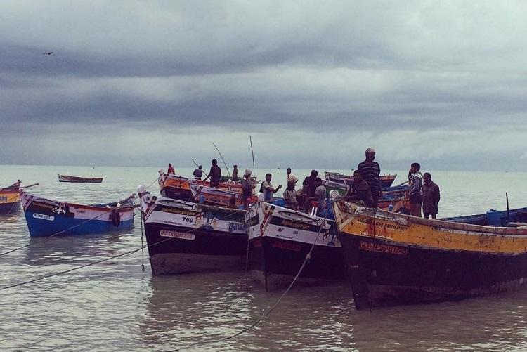 भारतीय मछुवारे श्री लंका की हिरासत में (फाइल फोटो)