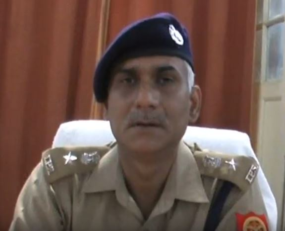 गालीबाज एसपी विपिन कुमार मिश्रा (फाइल फोटो)