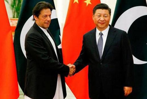 पाक PM इमरान खान और चीन के राष्ट्रपति शी चिनफिंग