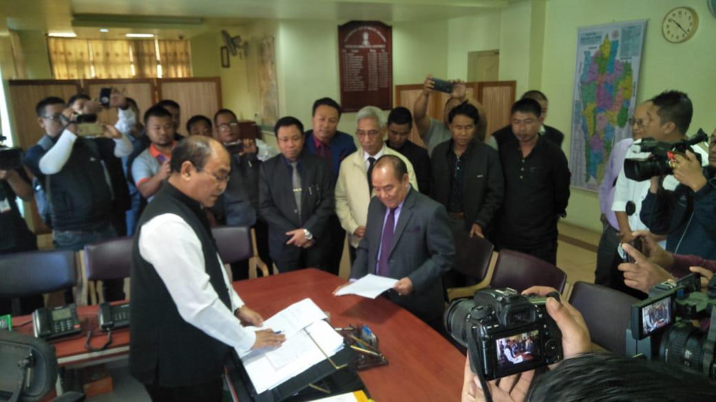 मिजोरम विधानसभा अध्यक्ष हिपहेई ने दिया इस्तीफा