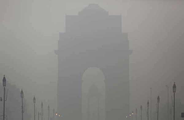 दिल्ली में छाया स्मॉग