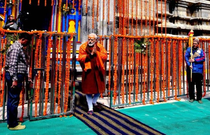 दिवाली पर केदारनाथ जायेंगे PM मोदी