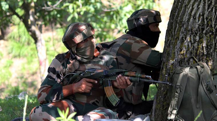 2 आतंकियों को सेना ने मार गिराया