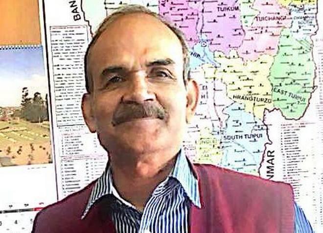 मिजोरम के मुख्य चुनाव अधिकारी एस बी शशांक