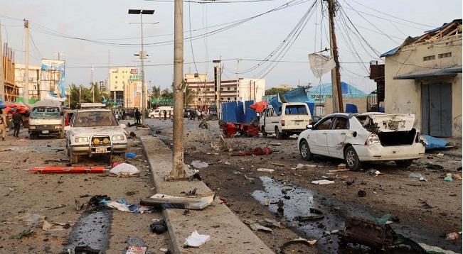 धमाकों से दहल उठी सोमालिया की राजधानी