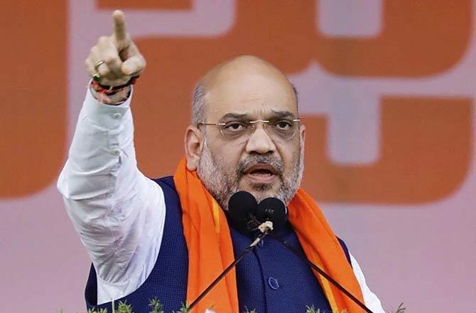 भारतीय जनता पार्टी अध्यक्ष अमित शाह
