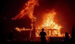 भीषण आग ने मचाया जबरदस्त तांडव