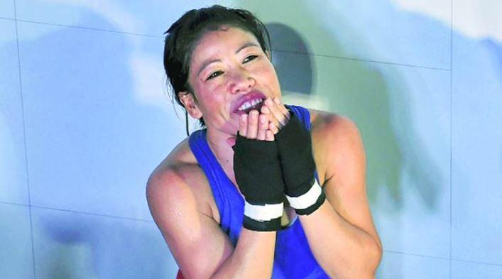 ओलंपिक पदक विजेता स्टार मुक्केबाज़ एमसी मैरीकॉम