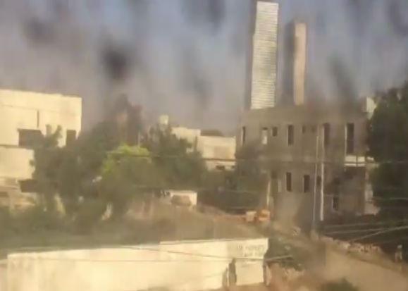 कराची में चीनी दूतावास के पास में धमाका