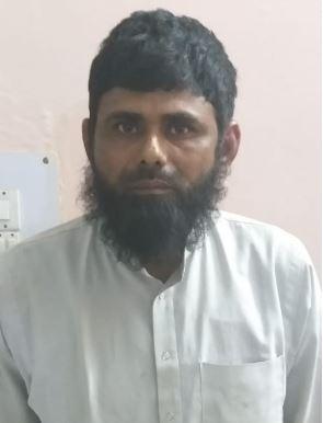 गिरफ्तार बदमाश अकरम कुरैशी