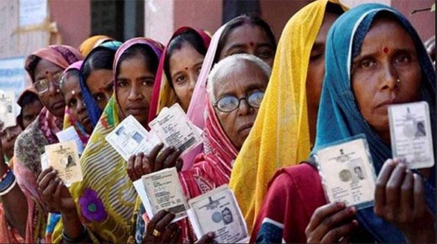 राजस्थान में वोटिंग जारी