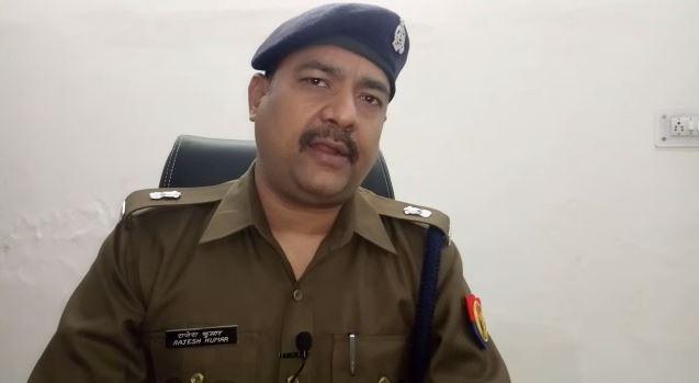 मामले की जानकारी देते एसपी देहात राजेश कुमार