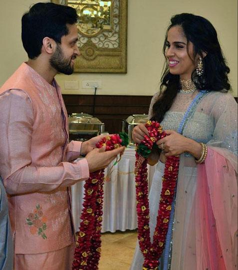 साइना-पारुपल्ली कश्यप ने की शादी