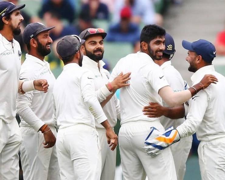मेलबर्न में टीम इंडिया ने दर्ज की जीत