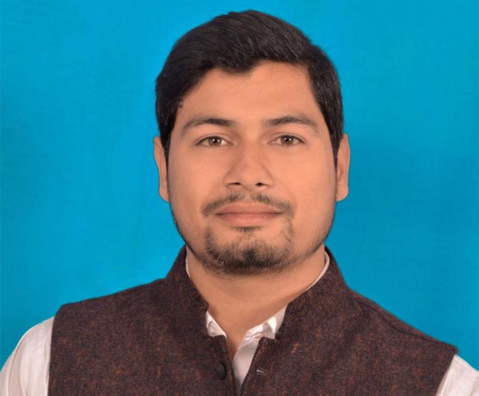 राहुल पांडेय को बनाया गया नया जिला उपाध्यक्ष
