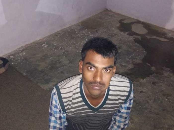 गिरफ्तार आरोपी राजकुमार यादव