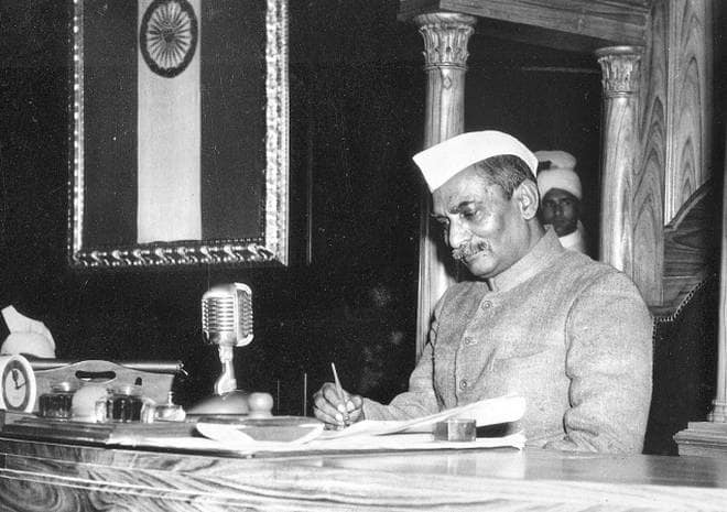 स्वतंत्र भारत के पहले राष्ट्रपति डॉ. राजेंद्र प्रसाद