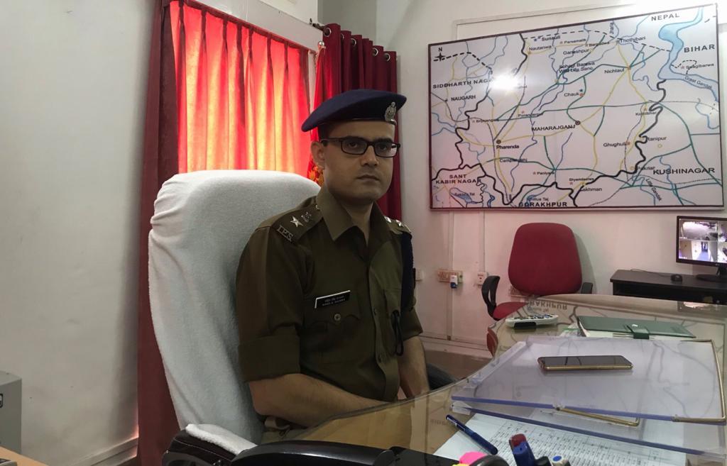 पुलिस अधीक्षक रोहित सिंह सजवान