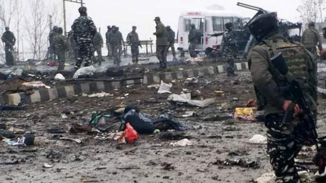 हमले के बाद का दृश्य