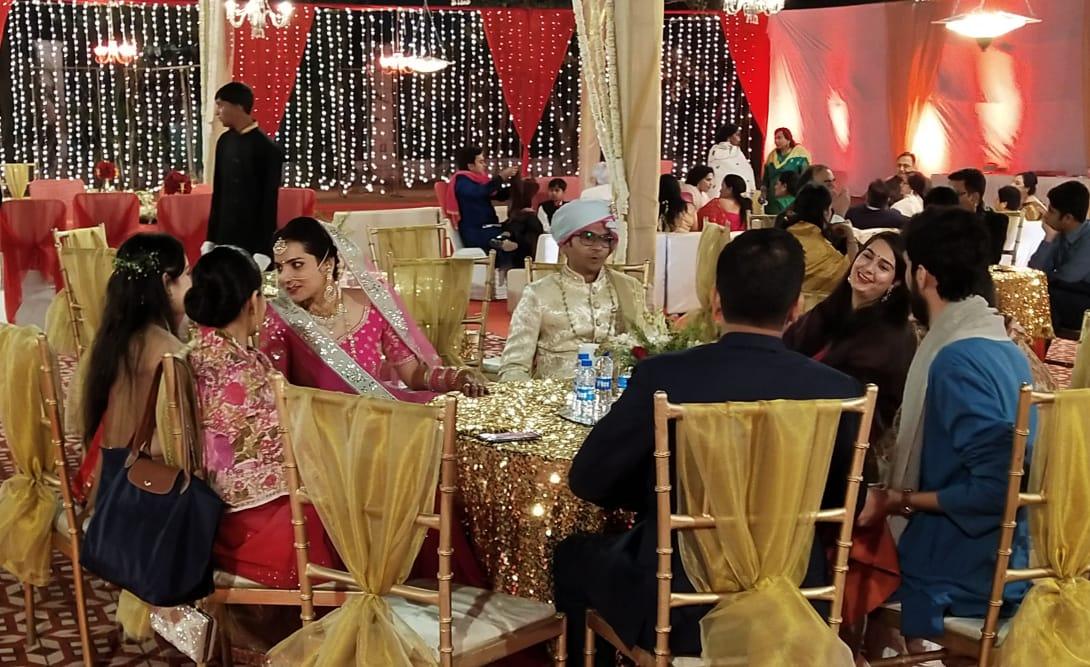 विवाह का तस्वीर (श्रोत: सोशल मीडिया)