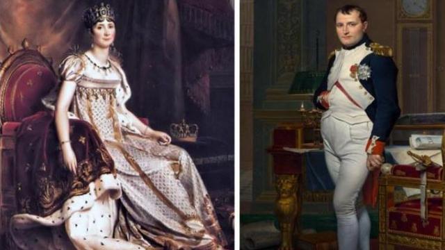 नेपोलियन बोनापार्ट और जोसेफिन