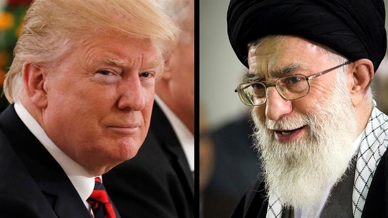 अमेरिकी राष्ट्रपति डोनाल्ड ट्रंप और ईरान के सर्वोच्च धार्मिक नेता अयातुल्ला अली खामनेई