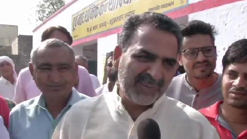केंद्रीय मंत्री और मुजफ्फरनगर से बीजेपी के उम्मीदवार संजीव बालियान