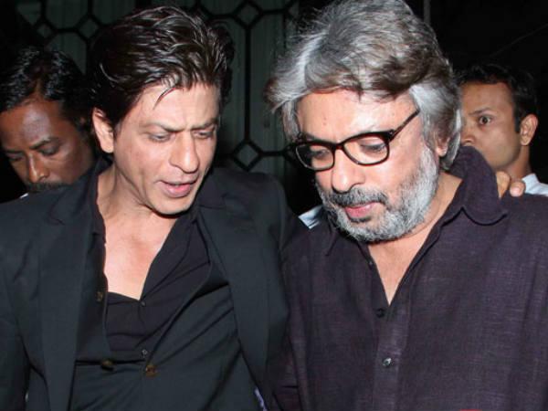 शाहरुख खान और संजय लीला भंसाली