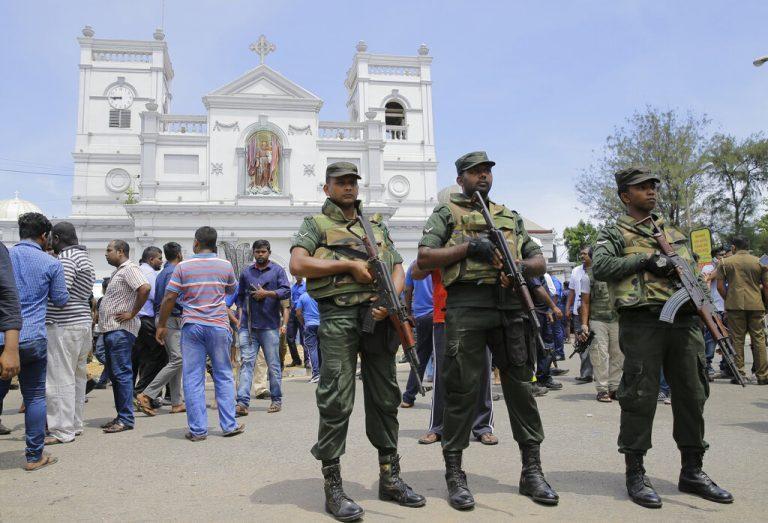 श्रीलंका आंतकी हमला