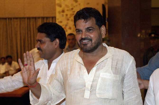 भाजपा सांसद बृजभूषण शरण सिंह (फाइल फोटो)