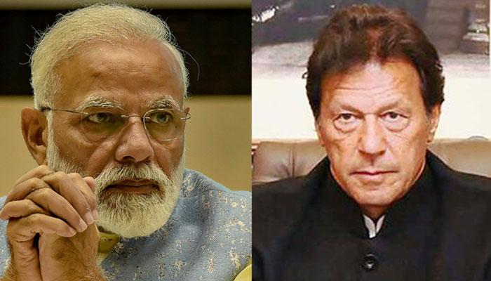 प्रधानमंत्री नरेन्द्र मोदी और पाक पीएम इमरान खान (फाइल फोटो)