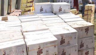 बरामद की गई विदेशी शराब
