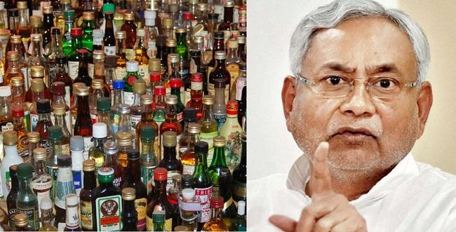 बंदी के बावजूद बिहार में धड़ाधड़ पकड़ी जा रही है शराब