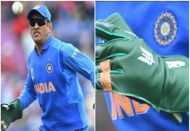 क्रिकेटर धोनी और जिन ग्लव्स को लेकर चल रहा है विवाद