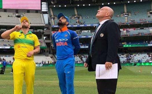 भारत और ऑस्ट्रेलिया के बीच टॉस