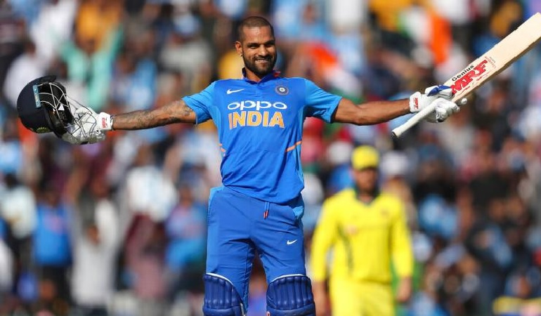 भारतीय क्रिकेटर शिखर धवन(फाइल फोटो)