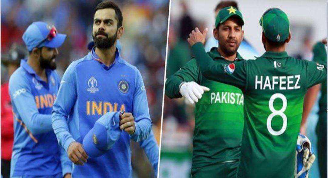 पाकिस्तान और भारत की क्रिकेट टीम