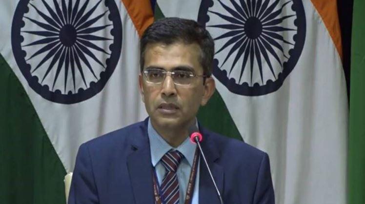भारतीय विदेश मंत्रालय के प्रवक्ता रवीश कुमार