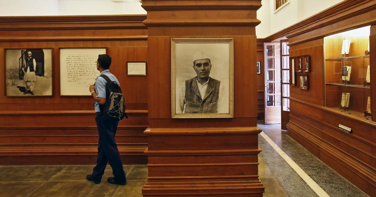 दिल्ली में स्थित तीन मूर्ति भवन में प्रधानमंत्री जवाहरलाल नेहरू का संग्रहालय
