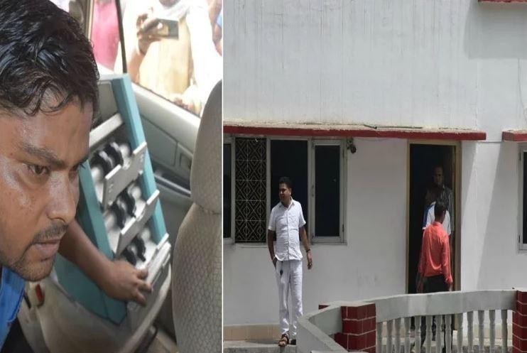 बुलंदशहर डीएम के घर पर सीबीआई की टीम