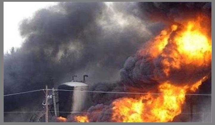 चीन के गैस फैक्ट्री में विस्फोट