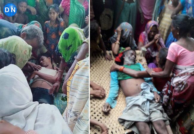 फतेहपुर के जहानाबाद थाना क्षेत्र में दो लोगों की आकाशीय बिजली से मौत